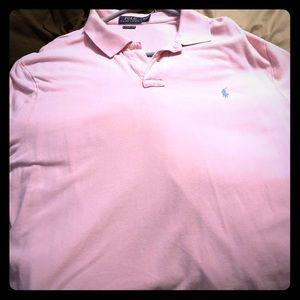 Light pink polo